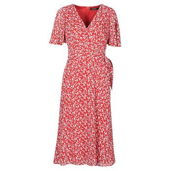 Υφασμάτινα Γυναίκα Μακριά Φορέματα Lauren Ralph Lauren ABEL Red