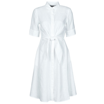 Υφασμάτινα Γυναίκα Κοντά Φορέματα Lauren Ralph Lauren WAKANA Άσπρο