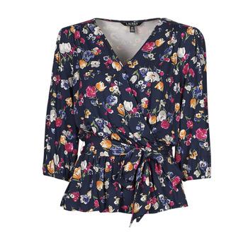 Υφασμάτινα Γυναίκα T-shirt με κοντά μανίκια Lauren Ralph Lauren SHIANETA Multicolour