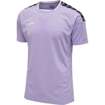 Υφασμάτινα T-shirt με κοντά μανίκια Hummel Maillot  Authentic Poly HML bleu lavande
