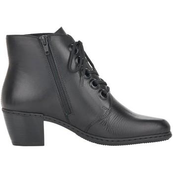 Παπούτσια Γυναίκα Μποτίνια Rieker Farina Schwarz Black