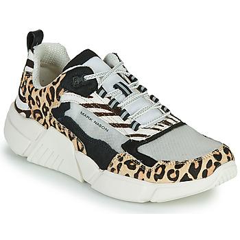 Παπούτσια Γυναίκα Χαμηλά Sneakers Skechers BLOCK - WEST Beige