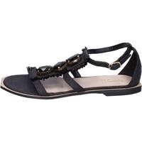Παπούτσια Γυναίκα Σανδάλια / Πέδιλα Jeannot BK788 Μαύρος