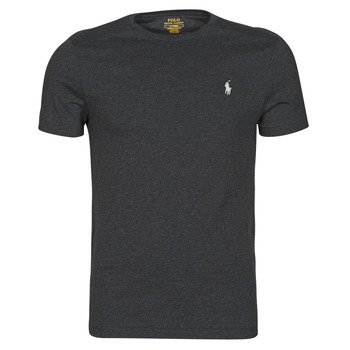 Υφασμάτινα Άνδρας T-shirt με κοντά μανίκια Polo Ralph Lauren T-SHIRT AJUSTE COL ROND EN COTON LOGO PONY PLAYER Black