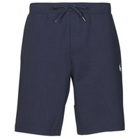 Υφασμάτινα Άνδρας Σόρτς / Βερμούδες Polo Ralph Lauren SHORT DE JOGGING EN DOUBLE KNIT TECH LOGO PONY PLAYER Marine