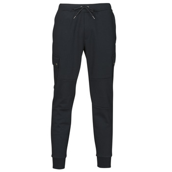 Υφασμάτινα Άνδρας Φόρμες Polo Ralph Lauren PANTALON DE JOGGING CARGO EN DOUBLE KNIT TECH LOGO PONY PLAYER Black