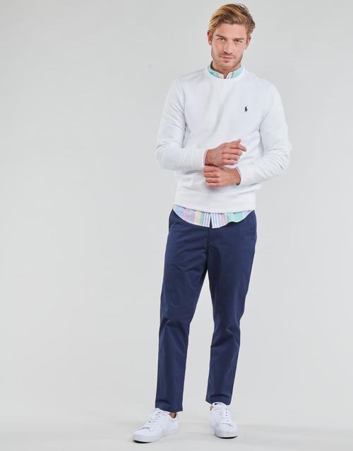 Υφασμάτινα Άνδρας Παντελόνια Πεντάτσεπα Polo Ralph Lauren PANTALON CHINO PREPSTER AJUSTABLE ELASTIQUE AVEC CORDON INTERIEU Marine
