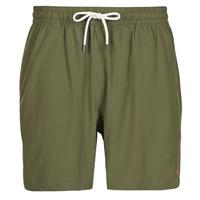 Υφασμάτινα Άνδρας Μαγιώ / shorts για την παραλία Polo Ralph Lauren MAILLOT SHORT DE BAIN EN NYLON RECYCLE, CORDON DE SERRAGE ET POC Kaki