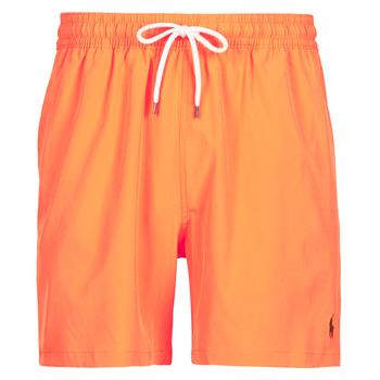 Υφασμάτινα Άνδρας Μαγιώ / shorts για την παραλία Polo Ralph Lauren MAILLOT SHORT DE BAIN EN NYLON RECYCLE, CORDON DE SERRAGE ET POC Orange