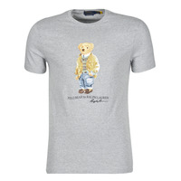 Υφασμάτινα Άνδρας T-shirt με κοντά μανίκια Polo Ralph Lauren T-SHIRT COL ROND POLO BEAR EN COTON Grey