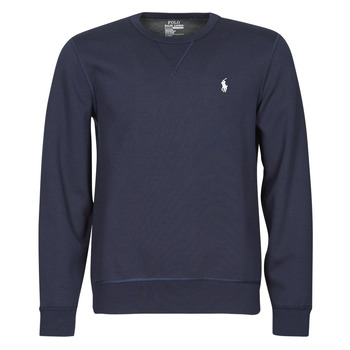 Υφασμάτινα Άνδρας Φούτερ Polo Ralph Lauren SWEATSHIRT COL ROND EN JOGGING DOUBLE KNIT TECH LOGO PONY PLAYER Μπλέ / Marine