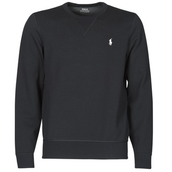 Υφασμάτινα Άνδρας Φούτερ Polo Ralph Lauren SWEATSHIRT COL ROND EN JOGGING DOUBLE KNIT TECH LOGO PONY PLAYER Black