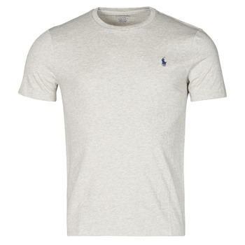 Υφασμάτινα Άνδρας T-shirt με κοντά μανίκια Polo Ralph Lauren T-SHIRT AJUSTE COL ROND EN COTON LOGO PONY PLAYER Grey
