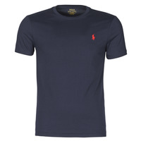 Υφασμάτινα Άνδρας T-shirt με κοντά μανίκια Polo Ralph Lauren T-SHIRT AJUSTE COL ROND EN COTON LOGO PONY PLAYER Marine
