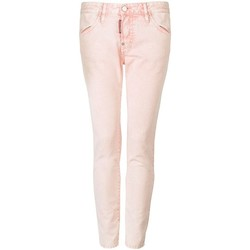 Υφασμάτινα Γυναίκα Παντελόνια Πεντάτσεπα Dsquared  Ροζ