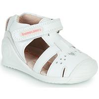 Παπούτσια Κορίτσι Σανδάλια / Πέδιλα Biomecanics 212104 Άσπρο / Silver