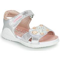 Παπούτσια Κορίτσι Σανδάλια / Πέδιλα Biomecanics 212172 Silver