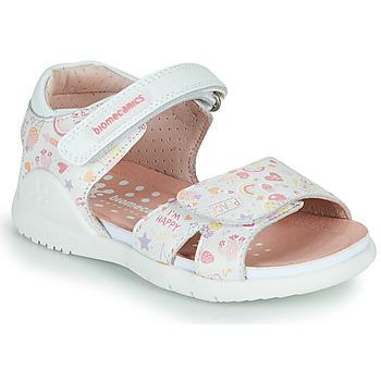 Παπούτσια Κορίτσι Σανδάλια / Πέδιλα Biomecanics 212165 Άσπρο / Multico