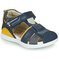 Παπούτσια Αγόρι Σανδάλια / Πέδιλα Biomecanics 212187 Marine / Yellow