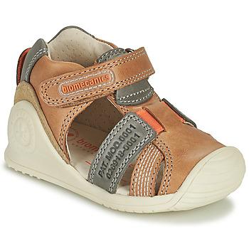 Παπούτσια Αγόρι Σανδάλια / Πέδιλα Biomecanics 212135 Cognac