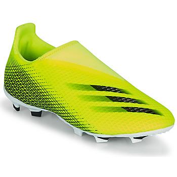 Παπούτσια Παιδί Ποδοσφαίρου adidas Performance X GHOSTED.3 LL FG J Yellow / Black
