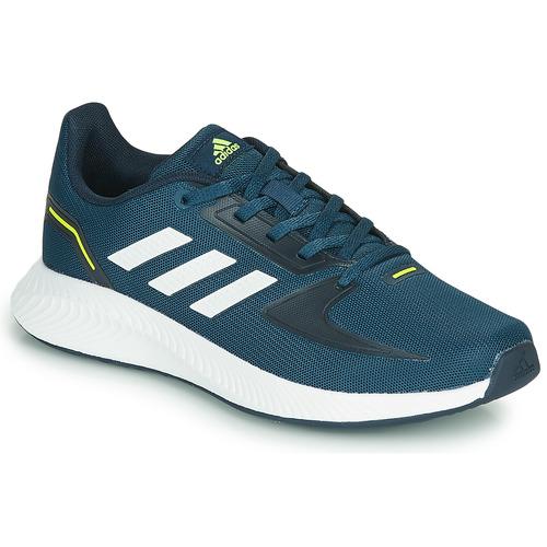 Παπούτσια Παιδί Χαμηλά Sneakers adidas Performance RUNFALCON 2.0 K Marine / Άσπρο