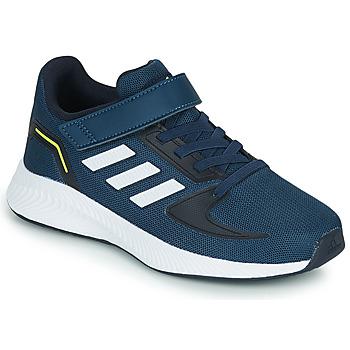 Παπούτσια Παιδί Χαμηλά Sneakers adidas Performance RUNFALCON 2.0 C Marine / Άσπρο