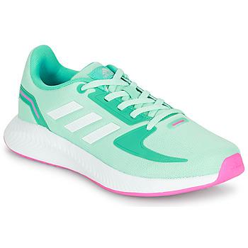 Παπούτσια Κορίτσι Χαμηλά Sneakers adidas Performance RUNFALCON 2.0 K Turquoise / Ροζ