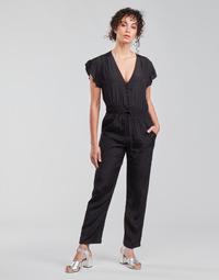 Υφασμάτινα Γυναίκα Ολόσωμες φόρμες / σαλοπέτες See U Soon 21191033 Black