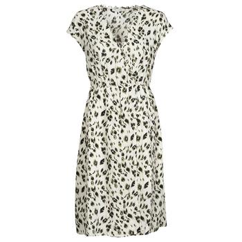 Υφασμάτινα Γυναίκα Κοντά Φορέματα See U Soon 21122122 Beige / Kaki