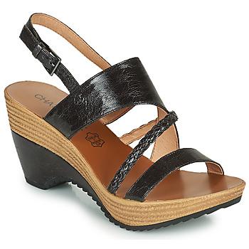 Παπούτσια Γυναίκα Σανδάλια / Πέδιλα Chattawak JULIETTE Black