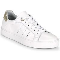 Παπούτσια Γυναίκα Χαμηλά Sneakers Myma PEGGUI Άσπρο / Gold