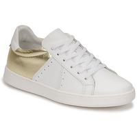 Παπούτσια Γυναίκα Χαμηλά Sneakers Myma PIGGE Άσπρο / Dore