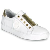 Παπούτσια Γυναίκα Χαμηλά Sneakers Myma PAGGI Άσπρο / Dore