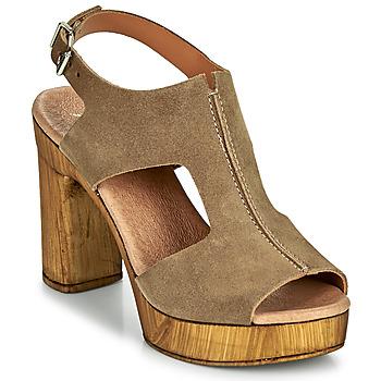 Παπούτσια Γυναίκα Σανδάλια / Πέδιλα Myma POULISSA Taupe