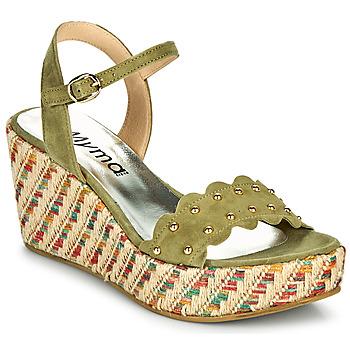 Παπούτσια Γυναίκα Σανδάλια / Πέδιλα Myma POLIDO Kaki