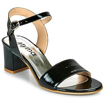 Παπούτσια Γυναίκα Σανδάλια / Πέδιλα Myma POLIDAME Black