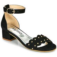 Παπούτσια Γυναίκα Σανδάλια / Πέδιλα Myma POLIVAR Black