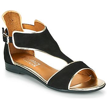 Παπούτσια Γυναίκα Σανδάλια / Πέδιλα Myma POLIBO Black
