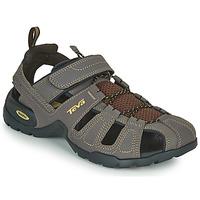 Παπούτσια Άνδρας Σπορ σανδάλια Teva FOREBAY Brown