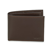Τσάντες Πορτοφόλια Levi's CASUAL CLASSICS HUNTER COIN BIFOLD Brown