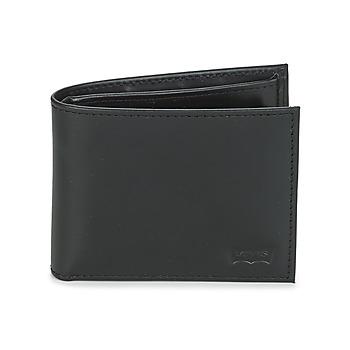 Τσάντες Πορτοφόλια Levi's CASUAL CLASSICS HUNTER COIN BIFOLD Black