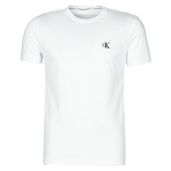 Υφασμάτινα Άνδρας T-shirt με κοντά μανίκια Calvin Klein Jeans YAF Άσπρο