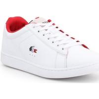 Παπούτσια Άνδρας Χαμηλά Sneakers Lacoste Carnaby Evo 317 3 SPM 7-34SPM0003042 white
