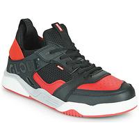 Παπούτσια Άνδρας Χαμηλά Sneakers Globe TILT EVO Black / Red