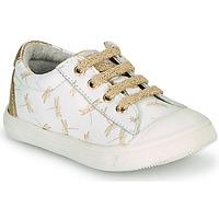 Παπούτσια Κορίτσι Χαμηλά Sneakers GBB MATIA Άσπρο