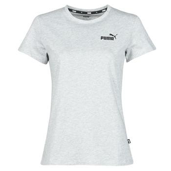 Υφασμάτινα Γυναίκα T-shirt με κοντά μανίκια Puma ESS LOGO TEE Grey / Chiné