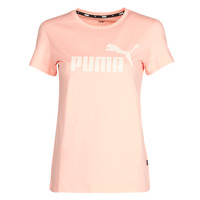 Υφασμάτινα Γυναίκα T-shirt με κοντά μανίκια Puma ESS Logo Tee (s) Apricot