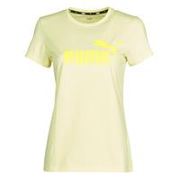 Υφασμάτινα Γυναίκα T-shirt με κοντά μανίκια Puma ESS Logo Tee (s) Yellow