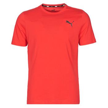 Υφασμάτινα Άνδρας T-shirt με κοντά μανίκια Puma ESS TEE Red